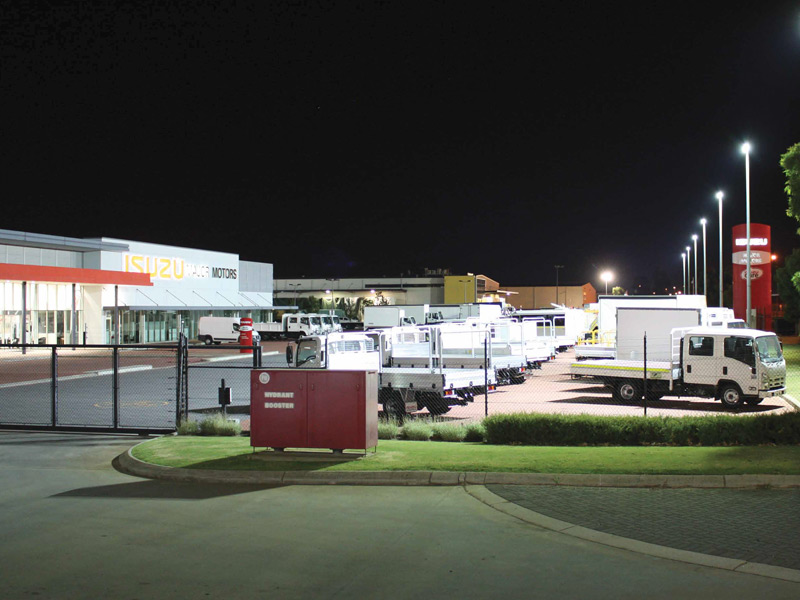 Case Study Major Motors Lumitex Led Lighting