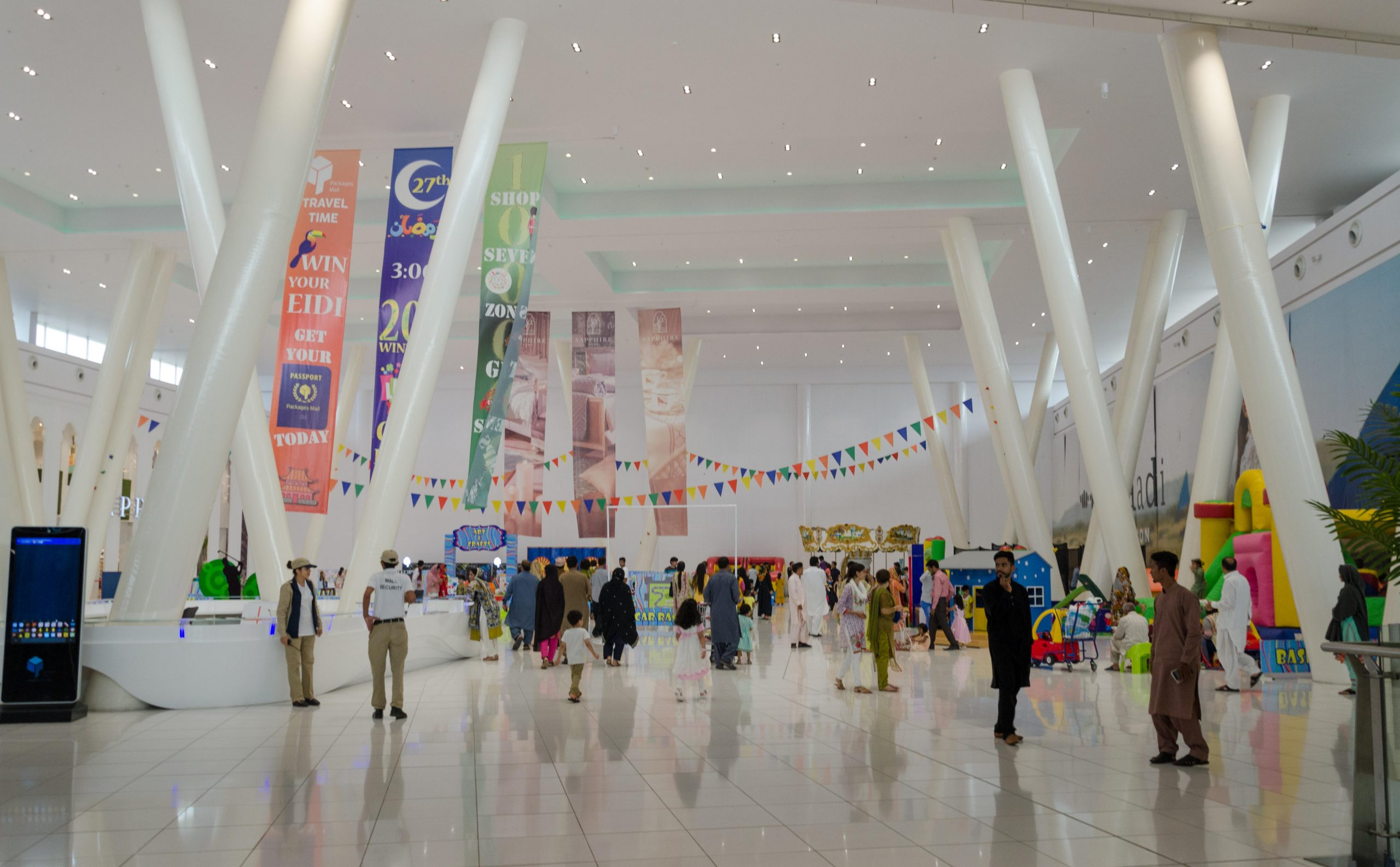 Packages Shopping Mall Interiors, Lahore, Punjab, Pakistan