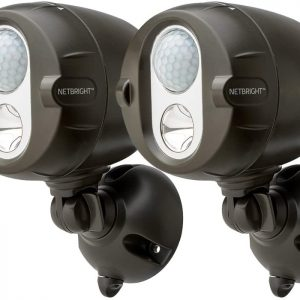 Mr Beams Netbright Spotlight Brown – 2 pack lumitex