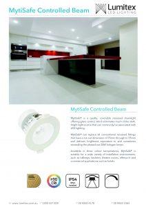 MytiSafe Controlled Beam Datasheet – Lumitex_Page_1