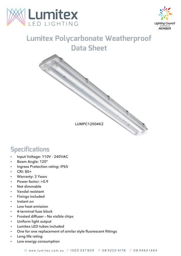 Polycarbonate Weatherproof Fittings – Lumitex_Page_1