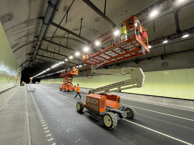Eastlink Tunnel Upgrade in progressIMG_2690