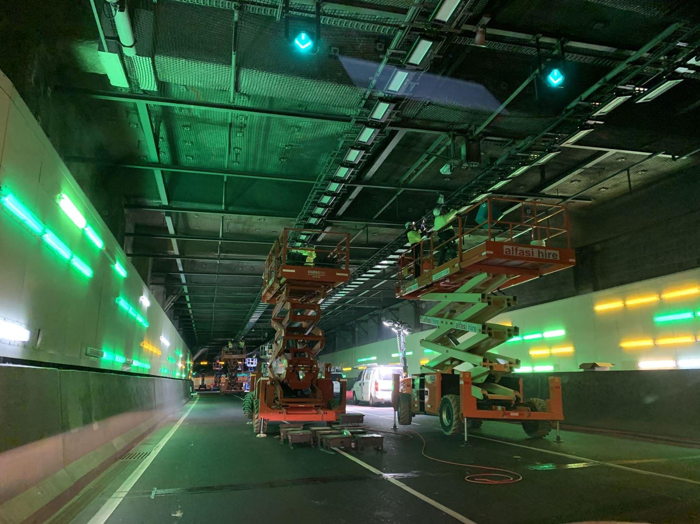 Eastlink Tunnel Upgrade in progressPhoto 30-5-21, 2 48 54 am (1)